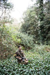 Luis Goncalves Azevedo, is part of the CIdN rebel patrols