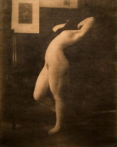 Nude Study, Tyrol. Showing at Robert Klein Gallery. Courtesy of PhotoLondon.