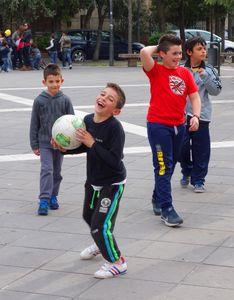 Street football, Italy  01