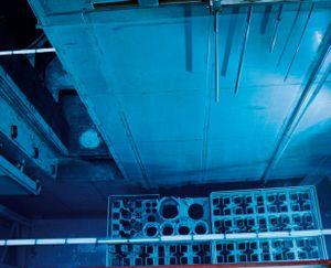 Nuclear Power Plant, Brunsbuttel, fuel cooling pond © Michael Danner