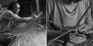 ENOMOTO, Chifuyo - Bamboo Weaver, Kanazawa