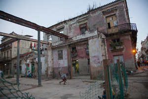 On the way to Nomi's childhood home, Havana