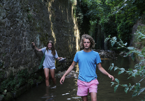 Tom and Polly go upstream in the River Lim