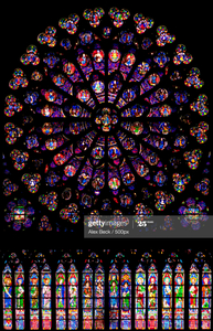 The South Rose Window, Notre Dame, Paris