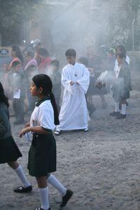 Procession au Guatemala
