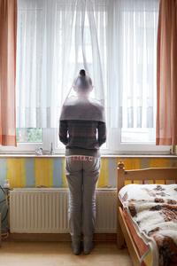 Rozalia in her bedroom