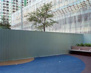 Folded restaurant #3, Ping Shek Estate, 8/2012