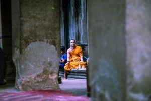 Monje budista.