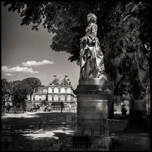Luxenborg Statue