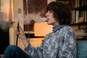 Nicolas Smoking a Water Shisha, from Teen Tribe © Martine Fougeron
