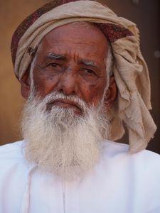 Bedu elder, Oman