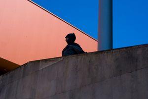 Batman is watching. Gijón. 2016