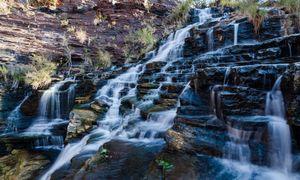 Waterfall in Karijini