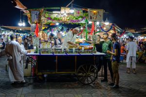 Chez Mohamed - A Tea vendor in Marrakech