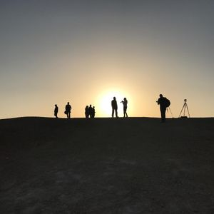 Photographing at the Dead Sea at Sunrise