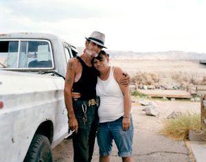 Bones and his wife, Nevada Desert, USA