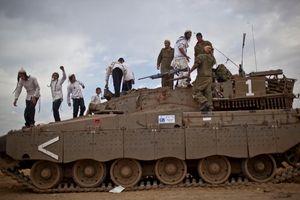 Gaza border  2012