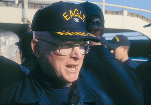 EAGLE Commanding Officer Robert Papp