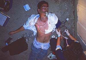 Black tar heroin overdose outside the bars on Lassen Avenue during the lettuce harvest.