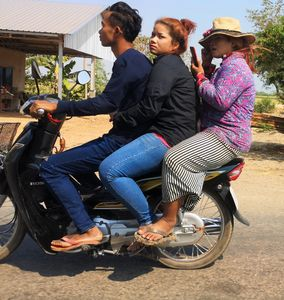 1 Cambodge On the road