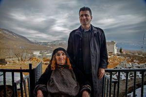 Fatima and Zikri Bbane, Barzan, 2012