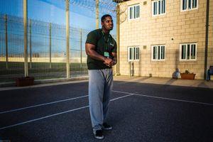 Judge, a prisoner inside HMP/YOI Portland, Dorset.