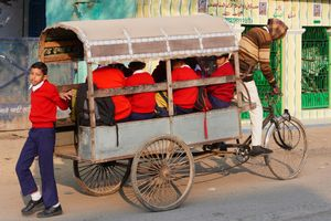 Rickshaw Riders Of Allahabad
