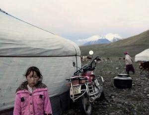 "Kauser II. Mt. Tsambagarav, Mongolia, 2014. From the series ""The Outsider."""