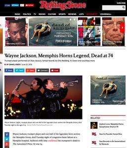 Memphis Horns Obit