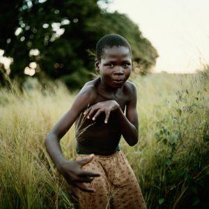 The invisible football, Nhambonda, Mozambique.