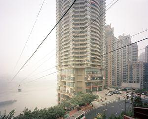 Cableway, Cangbai Road, Chongqing 2005. © Ferit Kuyas.