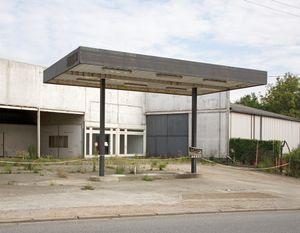 """Station #21, from """"Twentysix Abandoned Gasoline Stations"""" © Eric Tabuchi"""