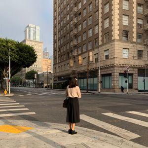 Woman on Corner