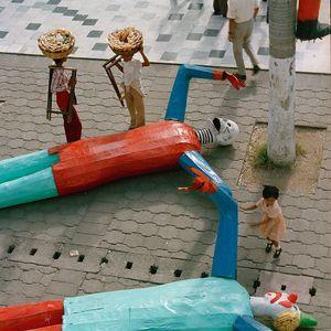 Carnival Puppets, Veracruz, México 1985