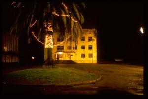 Géorgie, nuit à Batoumi