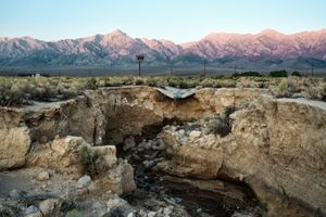 Symmes Creek Subsidence, Owens Valley, CA