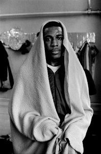 Frank Bruno Heavyweight boxer, Canning Town, London