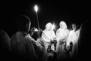 Pilgrimage at Lalibela, Nine.