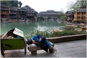 Street Photography - Sleeping Series 04 (China)