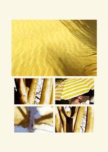 N°63 - Passage - Jaune des sables - 2008.