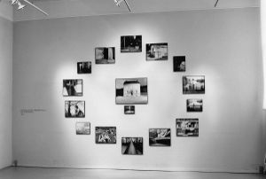 "Transatlantic Dreamcycle (via Eurovision) (16 prints, 103 x 146 in., 1989), installation view, from ""Confessions of an Animist"", a monographic exhibition at Museet for Fotokunst, Odense, Denmark, 1991."