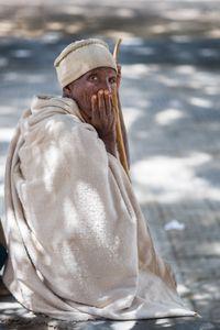 Old woman, Aksum, Ethiopia