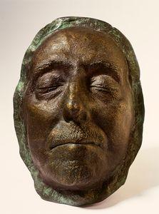 Francisco Franco's mortuary mask.