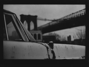 Untitled (Car Brooklyn Bridge), 2018