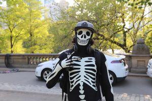Skeleton Skater Kid