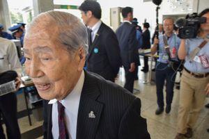 Sunao Tsuboi, survivor from Hiroshima.