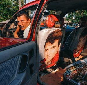 Elvis Taxi, Puerto Limón, Costa Rica 1986
