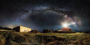 Starry lighthouse © Ivan Pedretti
