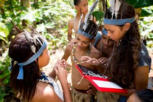 Young Tainos descendants