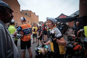 Karen Tostee, rider 228